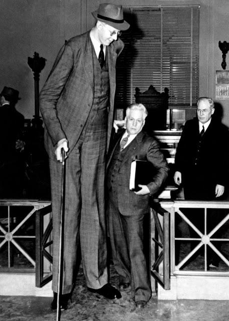 Ảnh hiếm về cuộc sống thường ngày của người đàn ông cao nhất lịch sử - Hình 1