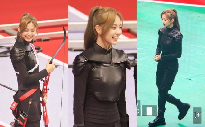 Đại hội thể thao Idol: Tzuyu (TWICE) tiếp tục chứng minh kỹ năng bắn cung thần sầu - Hình 3