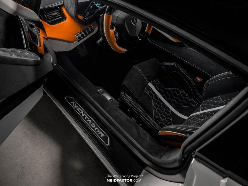 Để tùy chỉnh nội thất của chiếc Lamborghini Aventador, chủ xe phải tốn thêm gần 1 tỷ VNĐ - Hình 5