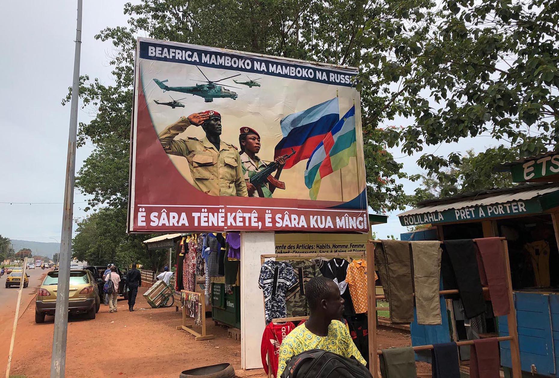 Đội quân bí mật của Nga đổ bộ vào quốc gia Trung Phi như thế nào? - Hình 1