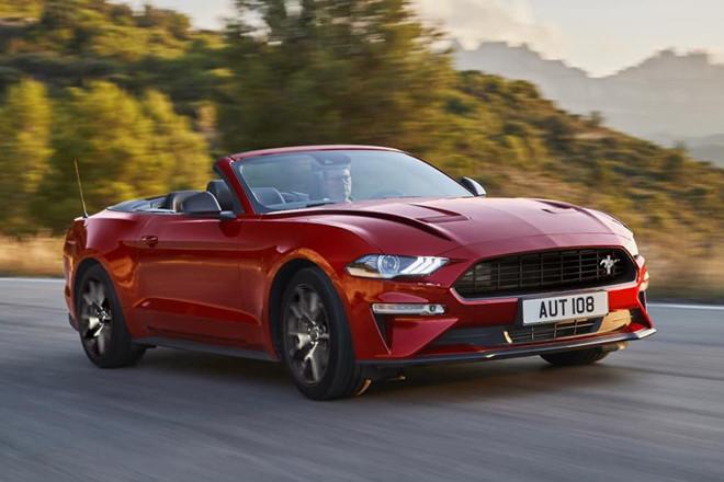 Ford Mustang55 phiên bản đặc biệt dành cho thị trường châu Âu - Hình 2