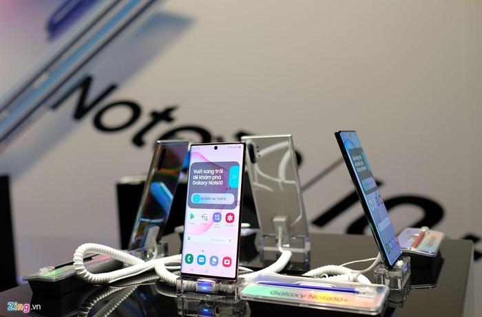 Galaxy Note10 và Note10 Plus ra mắt tại VN - giá từ 23 triệu đồng - Hình 4