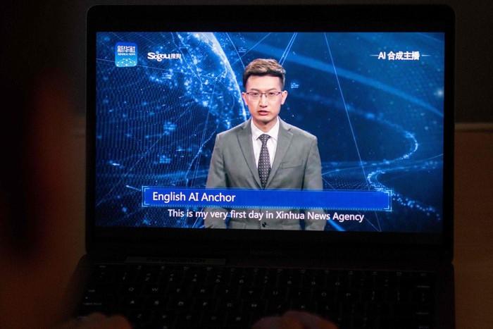 Hãng Trung Quốc làm AI đọc sách trông hệt như tác giả - Hình 1