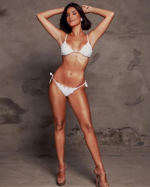 Hoàng Thùy và dàn mỹ nhân thi Miss Universe 2019 diện bikini: Ai bốc lửa hơn? - Hình 22