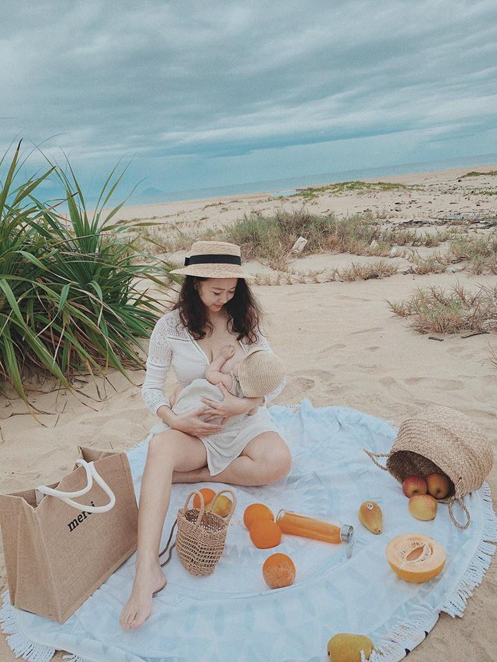 Hot mom Ly Sún công khai sự thật đằng sau hình ảnh lung linh, sang chảnh, son rỗi của mẹ bỉm sữa - Hình 6