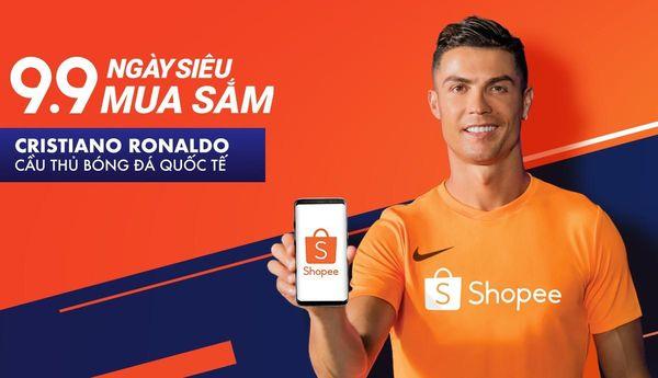 Huyền thoại bóng đá thế giới Cristiano Ronaldo trở thành Đại sứ thương hiệu của Shopee - Hình 1
