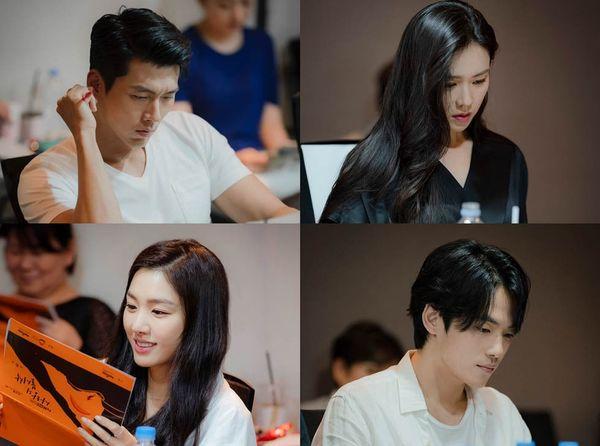 Hyun Bin - Son Ye Jin hóa tiên đồng ngọc nữ tại buổi đọc kịch bản Loves Crash Landing - Hình 2