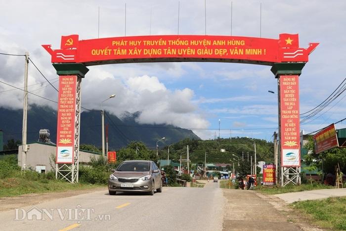 Lai Châu: Dân Tân Uyên góp đất, góp công làm nông thôn mới - Hình 1