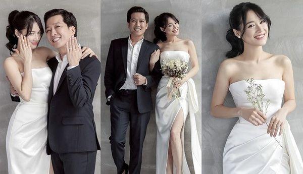 Chỉ mới lộ vài tấm ảnh chụp vội, dân tình đã phát sốt dự đoán váy cưới Đông Nhi - Hình 4