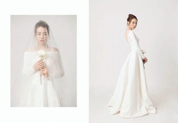 Chỉ mới lộ vài tấm ảnh chụp vội, dân tình đã phát sốt dự đoán váy cưới Đông Nhi - Hình 3