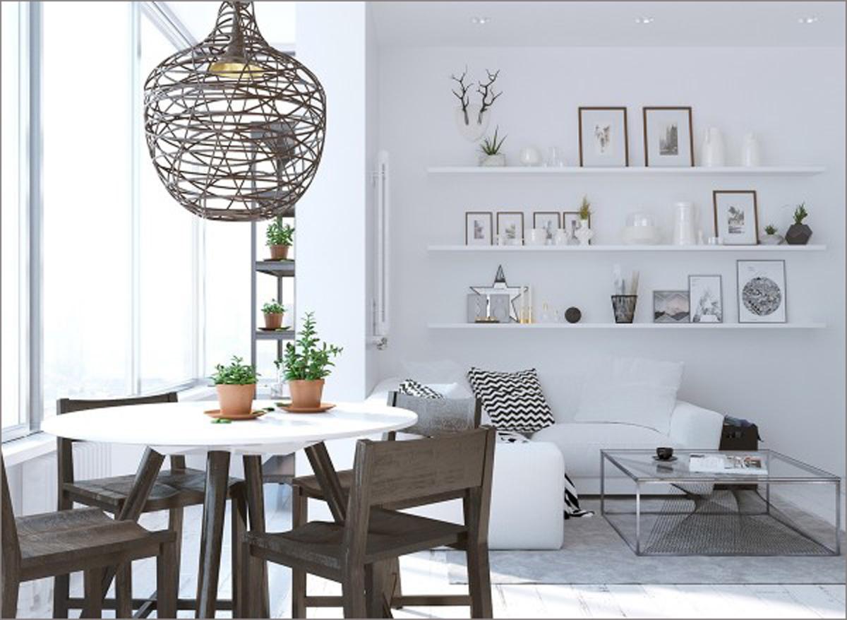 Ngắm những phòng ăn lịch lãm, mang phong cách hiện đại - Hình 9