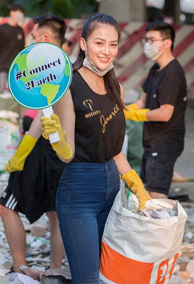 Soi trang phục từ thiện của Top 3 Miss World và Phương Khánh: khi đúng mực là một nghệ thuật! - Hình 11