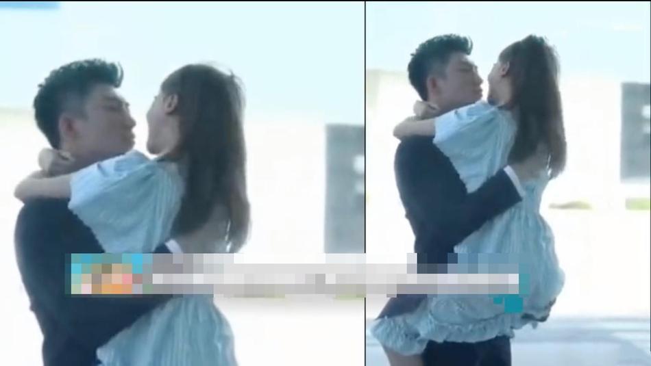 Rò rỉ clip Ngô Cẩn Ngôn và Hoàng Cảnh Du hôn nhau say đắm nơi công cộng - Hình 4