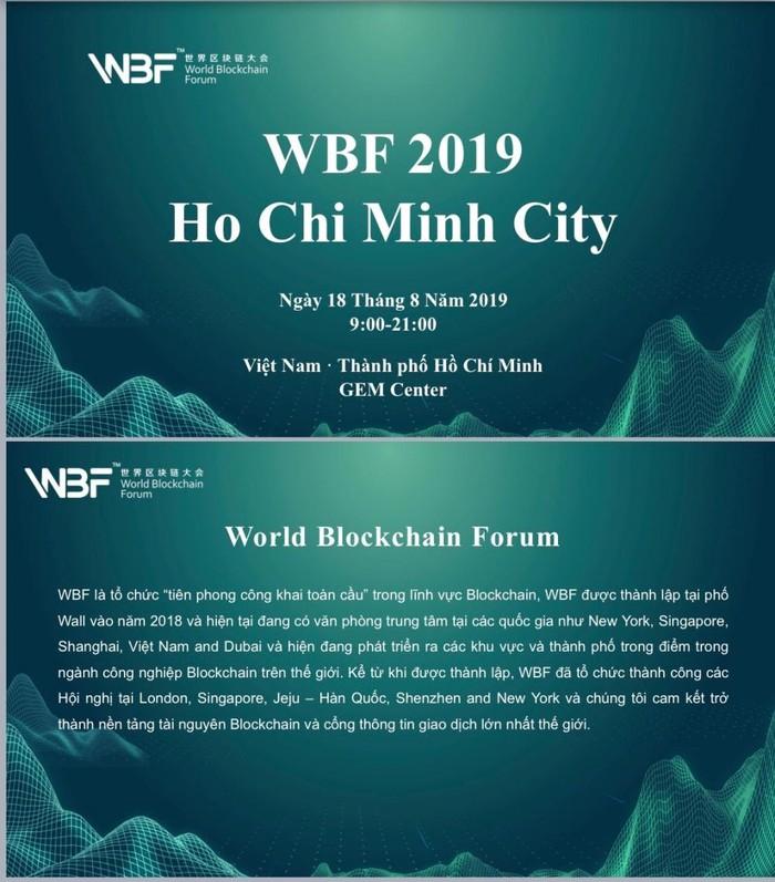 WBF tổ chức Hội thảo Blockchain tại Việt Nam - Hình 2