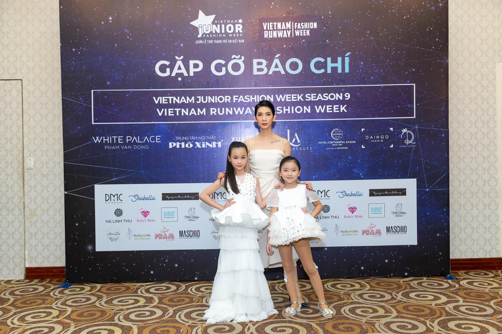 Xuân Lan tiết lộ về sân khấu Vietnam Junior Fashion Week chuẩn sàn diễn quốc tế. - Hình 3