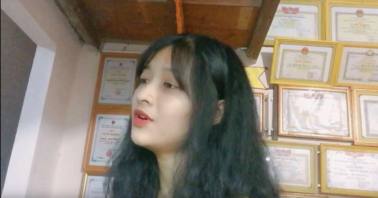 Xuất hiện clip Á hậu Kiều Loan tự tin khoe mặt mộc, bắn rap siêu chuẩn thời chưa ai biết đến - Hình 4