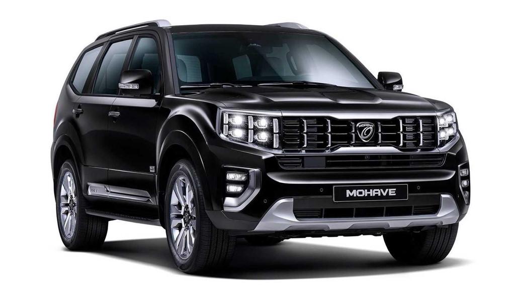 KIA công bố ảnh SUV cỡ lớn Mohave 2020 - Hình 1