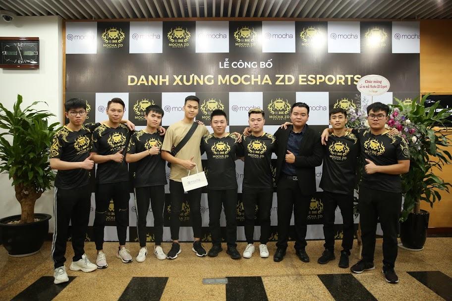 Mocha đầu tư vào Esports ra mắt đội hình Mocha ZD Esports bộ môn Liên Quân Mobile - Hình 3