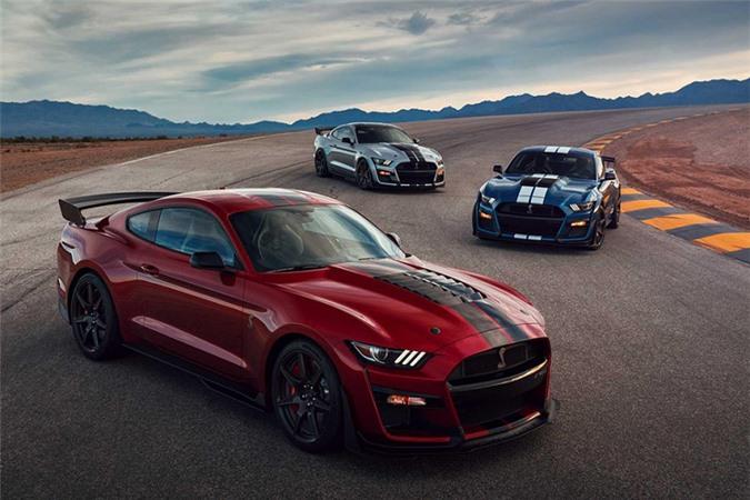 Mustang Shelby GT500 - xe thể thao mạnh nhất của Ford - Hình 6