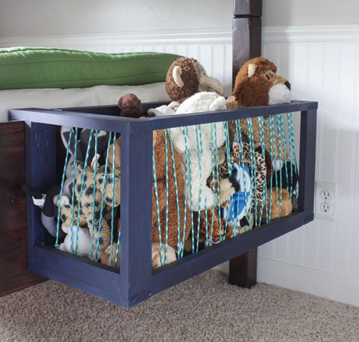 Những ý tưởng lưu trữ thú nhồi bông đơn giản và hiệu quả cho nhà gọn gàng, ngăn nắp - Hình 11