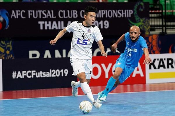 Thắng đậm đội bóng Trung Quốc, Thái Sơn Nam vào bán kết giải Futsal châu Á - Hình 1