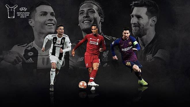 Cầu thủ hay nhất UEFA 2019: Siêu hậu vệ Van Dijk đấu 2 siêu nhân Ronaldo - Messi - Hình 1