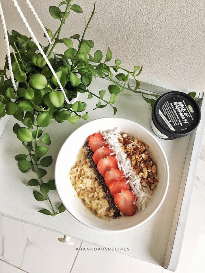 Cô nàng 9x gợi ý thực đơn ăn sáng vừa nhẹ bụng lại dễ làm, giúp hội chị em giữ dáng và giảm cân hiệu quả - Hình 8