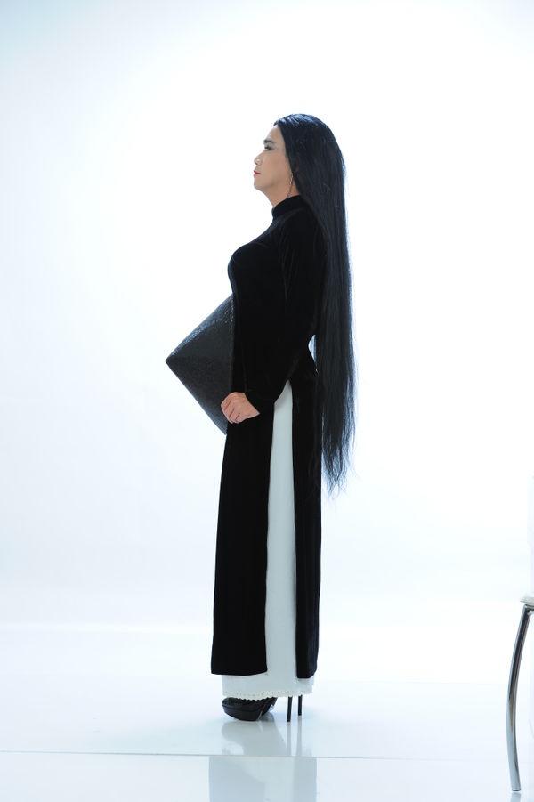 Công bố bộ ảnh cố nghệ sĩ Minh Thuận nền nã trong tà áo dài trước khi qua đời không lâu - Hình 8