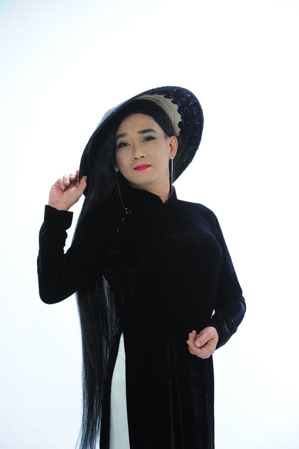 Công bố bộ ảnh cố nghệ sĩ Minh Thuận nền nã trong tà áo dài trước khi qua đời không lâu - Hình 5