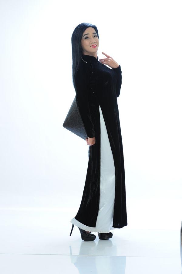 Công bố bộ ảnh cố nghệ sĩ Minh Thuận nền nã trong tà áo dài trước khi qua đời không lâu - Hình 2