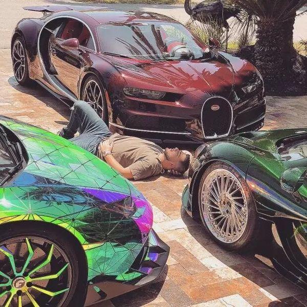 Hội con nhà giàu lại thiêu mắt người xem với loạt ảnh tắm trong bồn đầy tiền hay đốt siêu xe 2 tỷ - Hình 17
