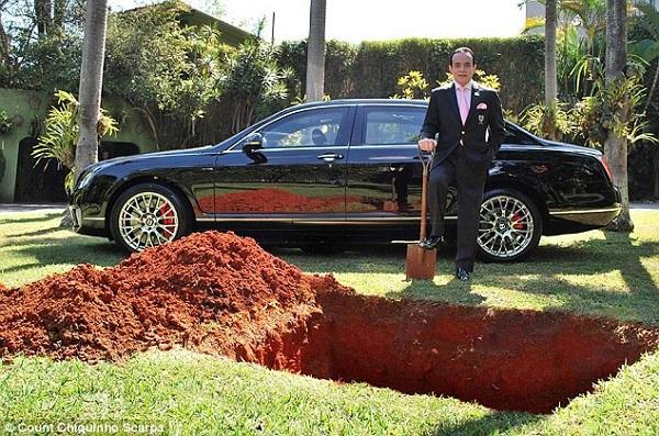 Đại gia Brazil tuyên bố chôn chiếc xe Bentley đắt tiền, dư luận từ phẫn nộ tới nể phục - Hình 3