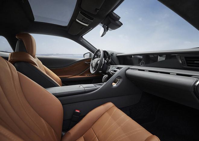 Lexus LC 500 Inspiration 2020 ấn tượng với màu sơn bắt mắt - Hình 3
