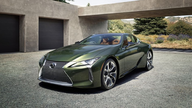 Lexus LC 500 Inspiration 2020 ấn tượng với màu sơn bắt mắt - Hình 1