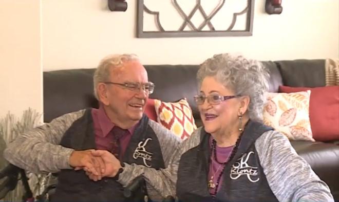 Nhờ mặc áo cặp mà chung sống hạnh phúc 68 năm - Hình 1