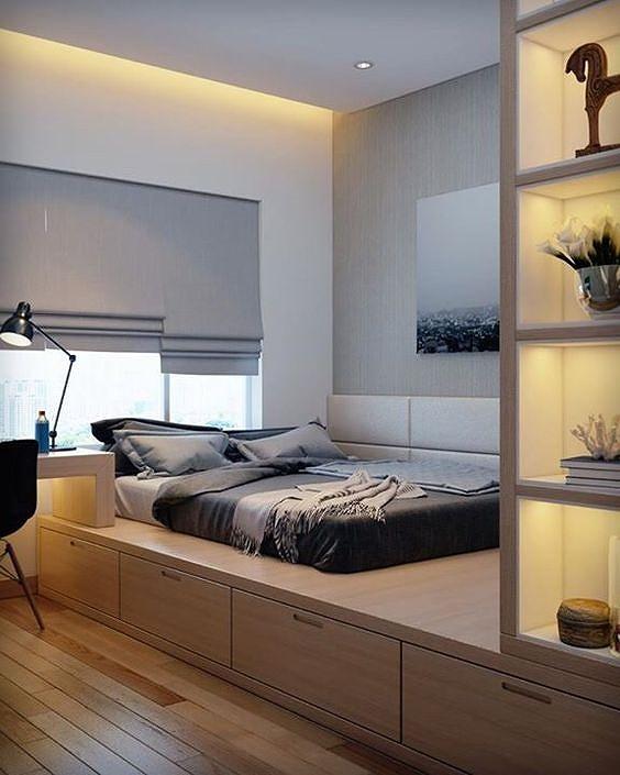 Phòng ngủ nổi bật cho nhà phố hẹp nhờ biến tấu cổ điển và cây xanh - Hình 2