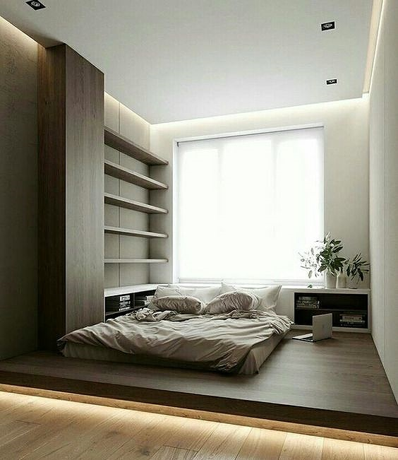 Phòng ngủ nổi bật cho nhà phố hẹp nhờ biến tấu cổ điển và cây xanh - Hình 1