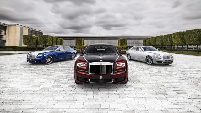 Rolls-Royce Ghost Zenith Collection: Chia tay một biểu tượng - Hình 1