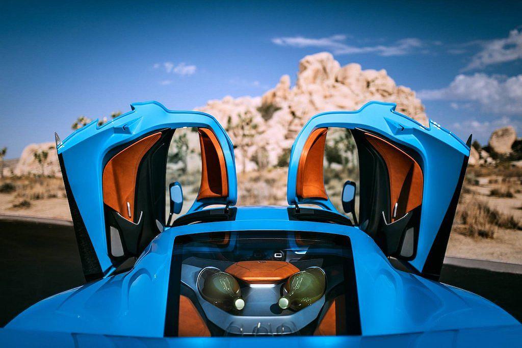 Siêu xe điện khủng Rimac C_Two California Edition giá từ 50 tỷ - Hình 2