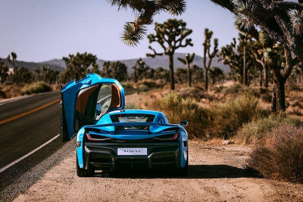 Siêu xe điện khủng Rimac C_Two California Edition giá từ 50 tỷ - Hình 3