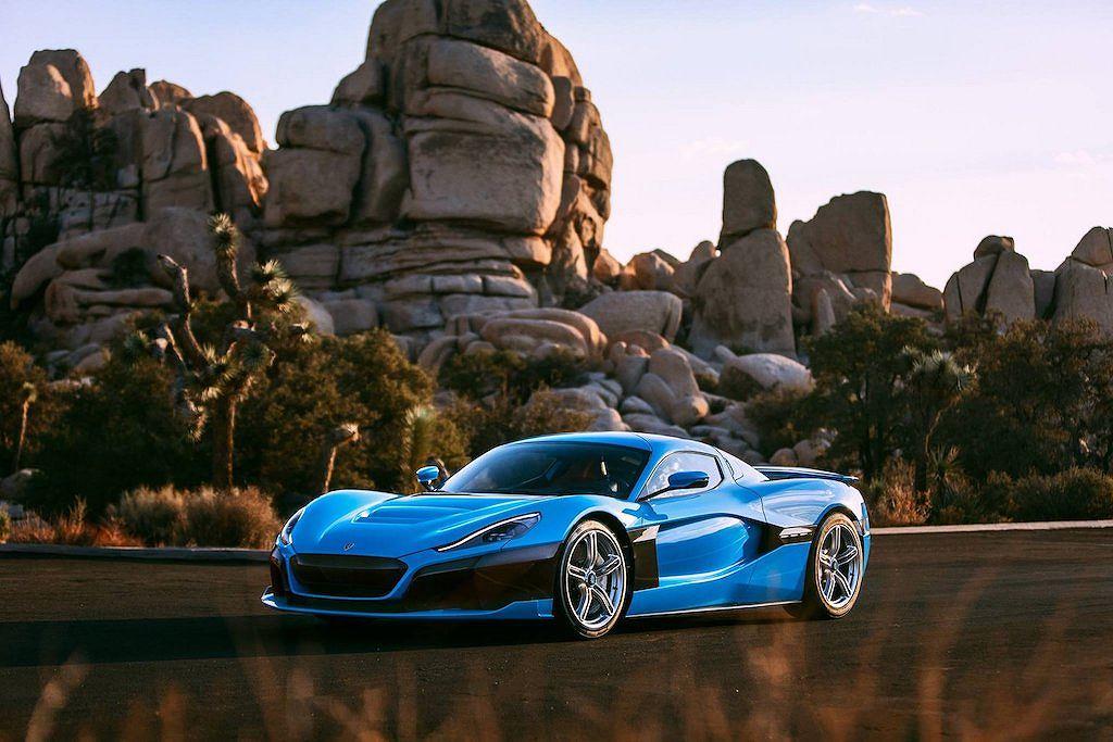 Siêu xe điện khủng Rimac C_Two California Edition giá từ 50 tỷ - Hình 1