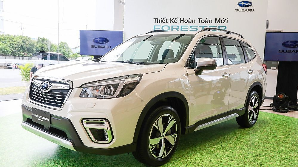 Subaru Forester 2019: SUV 5 chỗ cạnh tranh mạnh với Honda CR-V, Mazda CX-5 - Hình 1