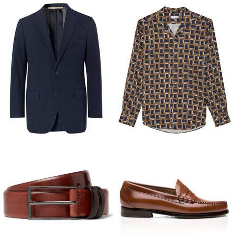 Suit xanh và giày nâu: Phối sao cho hợp bài? - Hình 5