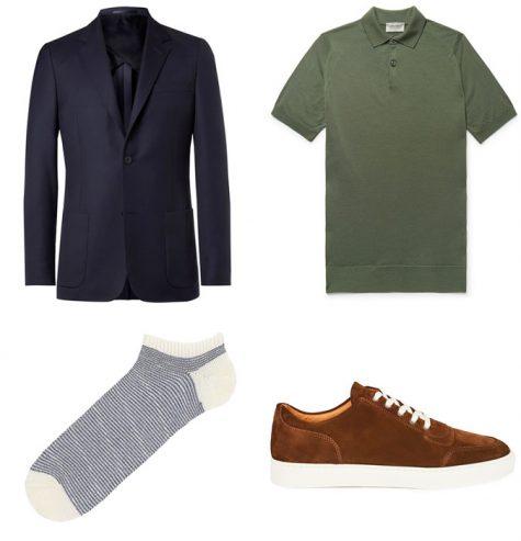 Suit xanh và giày nâu: Phối sao cho hợp bài? - Hình 9