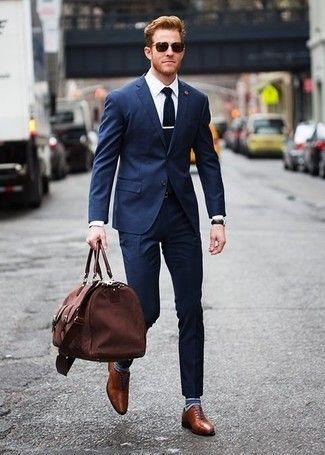 Suit xanh và giày nâu: Phối sao cho hợp bài? - Hình 2