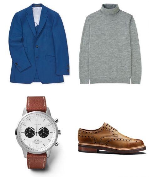 Suit xanh và giày nâu: Phối sao cho hợp bài? - Hình 7