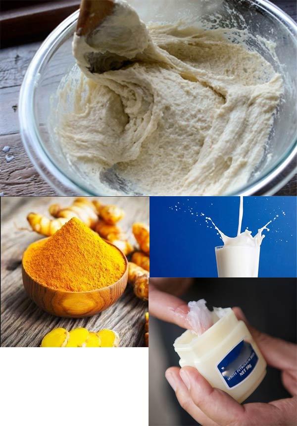 Tẩy lông sạch lông tại nhà chỉ tốn 3 ngàn đồng nhờ kem nẻ và bột mì - Hình 2