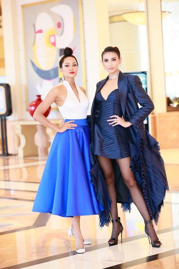 HHen Niê và Võ Hoàng Yến đọ sắc một chín một mười tại sự kiện Miss Universe tại Hà Nội - Hình 3