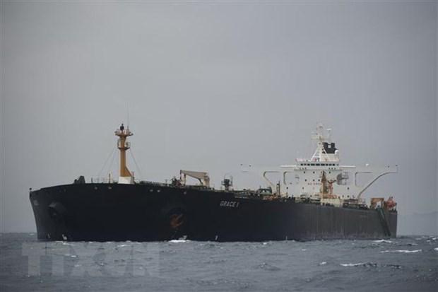 Mỹ công bố lệnh bắt giữ siêu tàu chở dầu Grace 1 của Iran - Hình 1