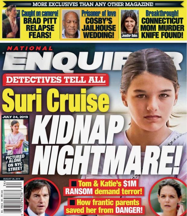 Suri Cruise trở thành đối tượng triệu đô của những tên bắt cóc? - Hình 1